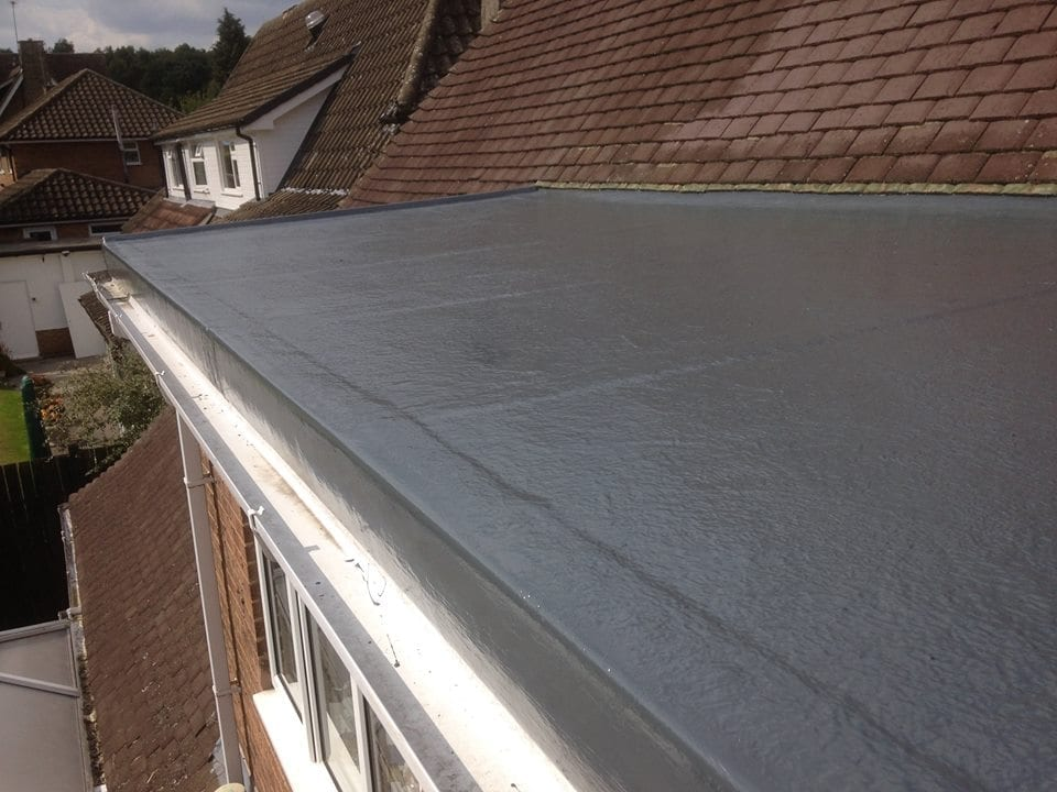 GRP Flat Roofing Edge