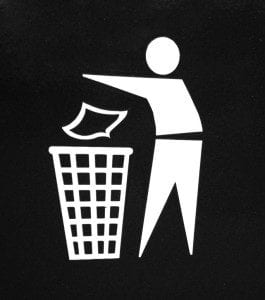 throw away rubbish web content
