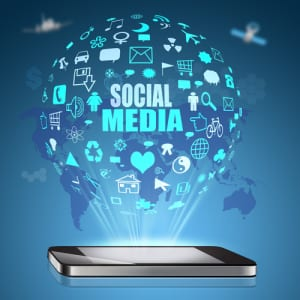 Social Media marketing phone and apps