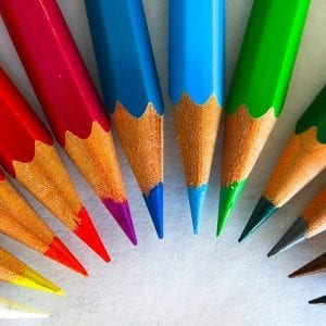 colour pencils new