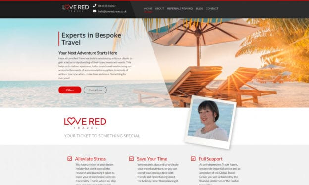 SEO CoPilot Love Red Portfolio
