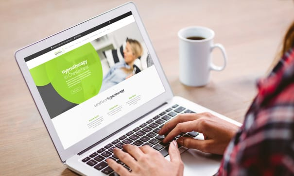 Chesterfield Hypnotherapy web design