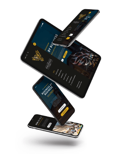 Website project on different devices