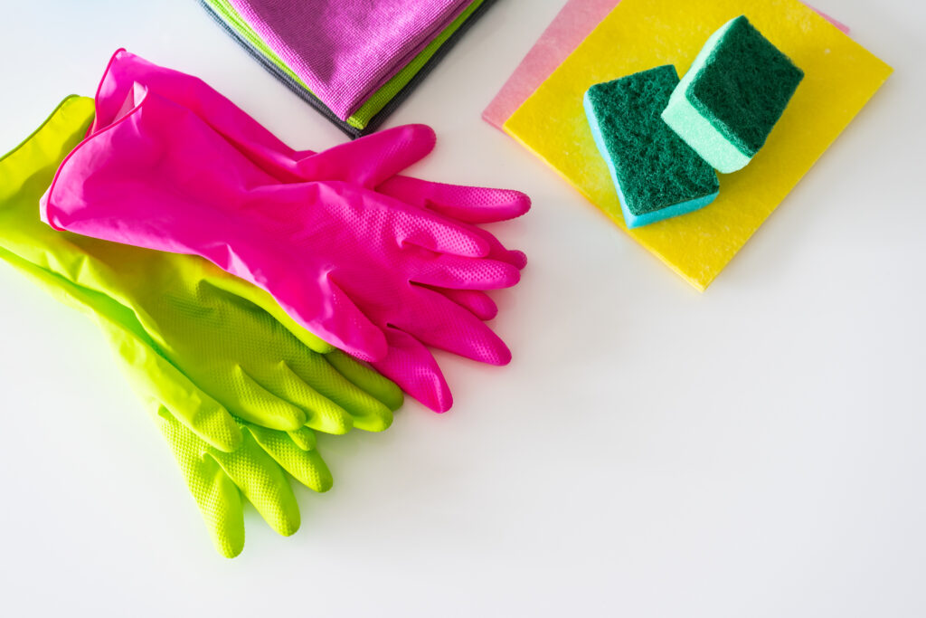 cleaning supplies - spring clean