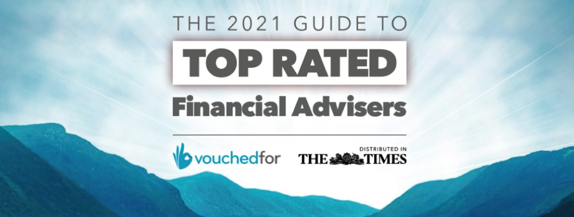 VouchedFor 2021 Top Rated Advisors guide